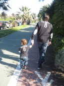 Father and Son!